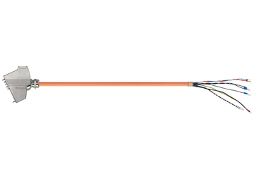 readycable® hybrid-servokabel enligt SEW standard i0817 8887, baskabel, PUR 10 x d