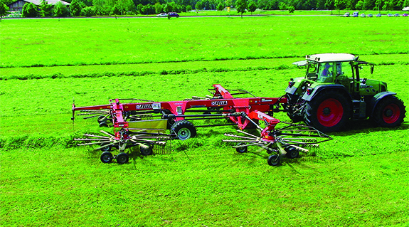 Agricultural machinery construction